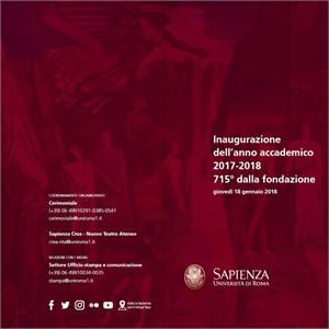 Inaugurazione dell'anno accademico 2017-2018